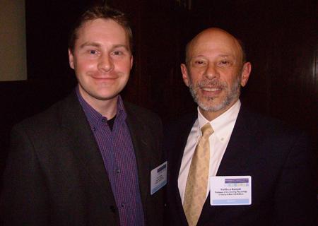 Per Carlbring och Bruce Wampold  år 2007